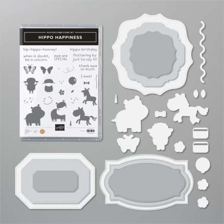 Hippo Happiness Bundle from Stampin' Up!