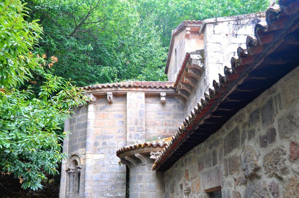 Exterior. Santa Cristina de Ribas de Sil