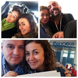 Con Laia, Alberto, Faustino y Damián #Unirede 2015