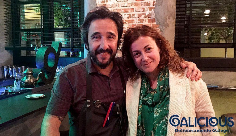 Con Diego Guerrero en DSTAgE