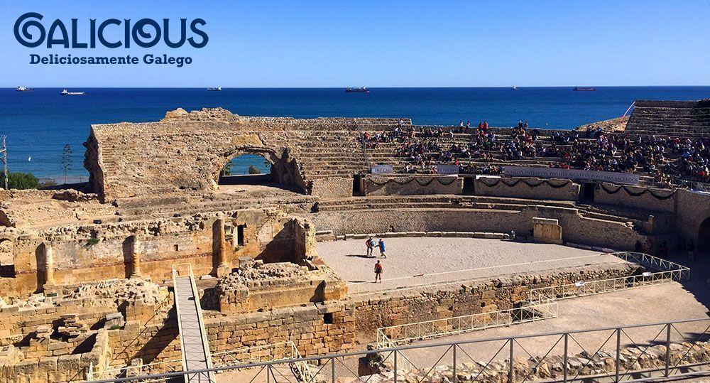 Gladiadores en el Anfiteatro Tarragona #TarracoViva2015