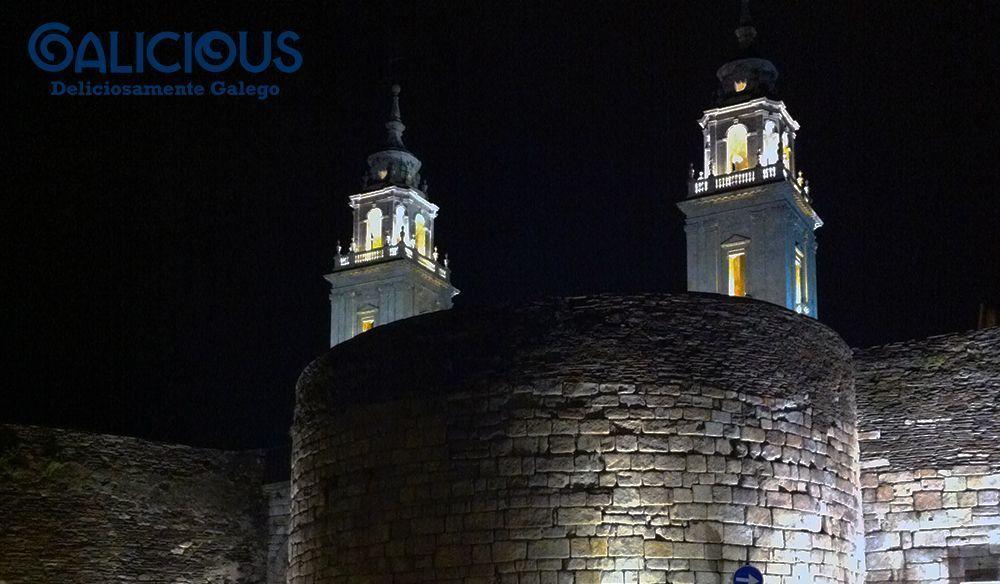 Muralla y Catedral de Lugo