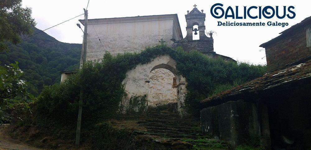 San Xoan dos Baos. Os Baos, Ribeira de Piquín, Lugo
