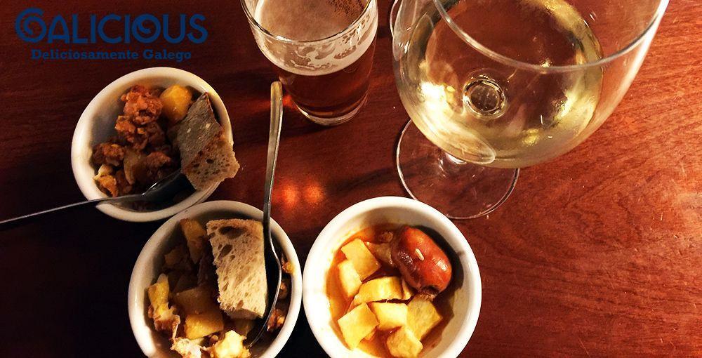 De vinos en el Cinco Vigas ( Lugo ) Galicious