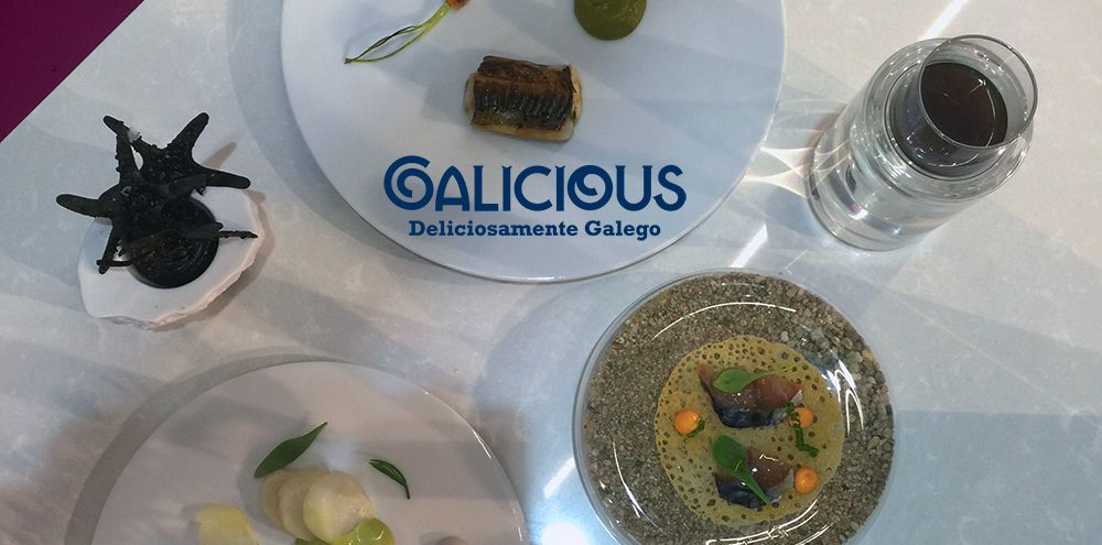 Showcoooking Ivan Dominguez en Alimentaria 2016   Galicious