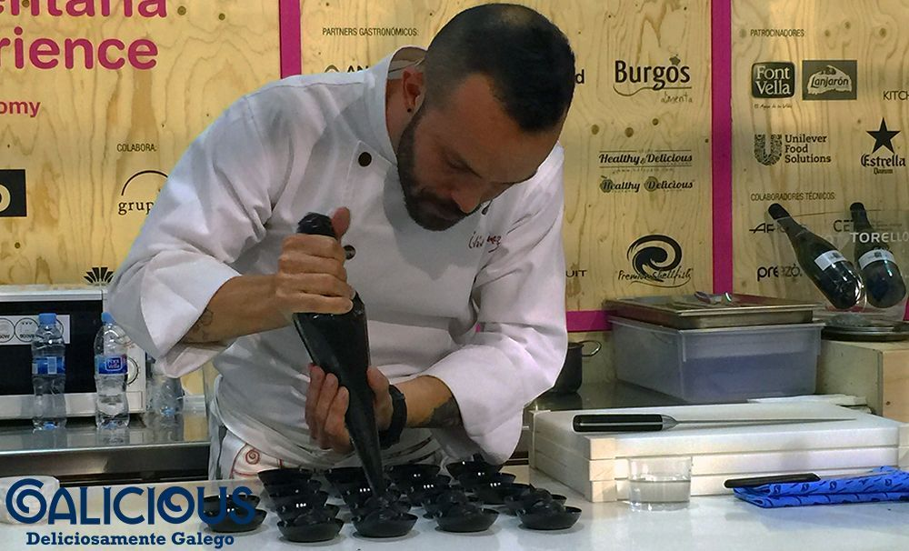 Showcoooking Ivan Dominguez en Alimentaria 2016 | Galicious