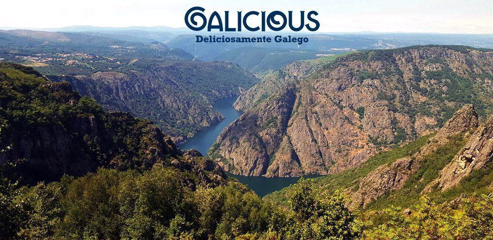 """Cañones del Sil ( Foto de """"100 cosas imprescindibles que hacer en Galicia"""" ) By Galicious"""