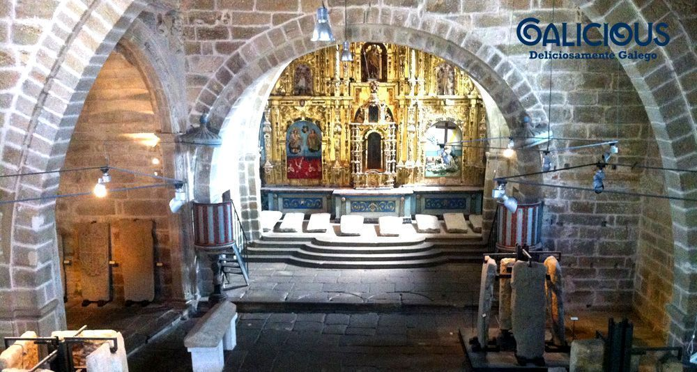 "Santa Maria A Nova, Noia ( Foto de ""100 cosas imprescindibles que hacer en Galicia"" ) By Galicious"