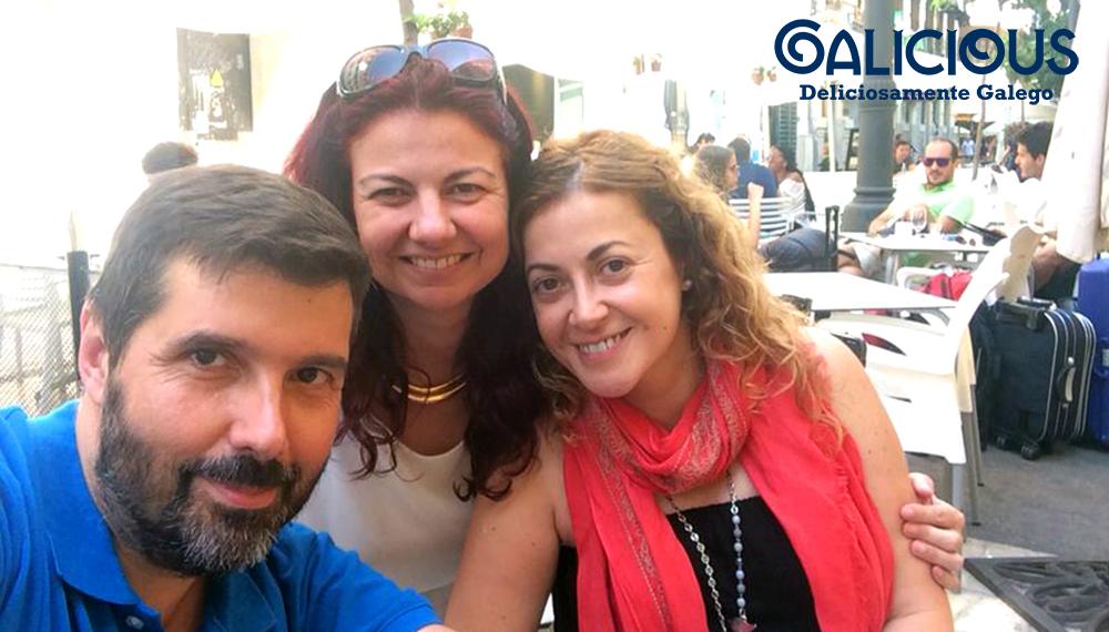 Con Fidel y Erika en Valencia, Julio 2014
