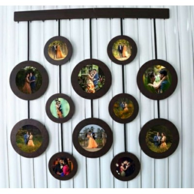 Frame with 12 Personalized pictures