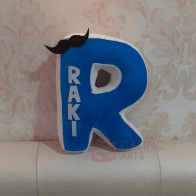 Customized Letter Cushions