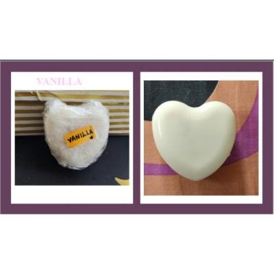 Handmade organic Shea butter Vanilla soap