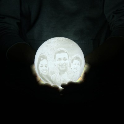Personalized Moon Lamp