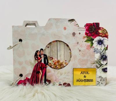 Camera Photo Album | Love theme | Customized gifts | Handmade gift