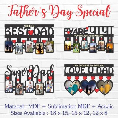 Father's Day Special MDF Frames