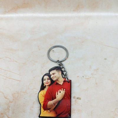 Personalised Acrylic Photo CutOut Keychain