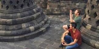 Mark zuckerberg di Indonesia dan langsung ke Borobudur