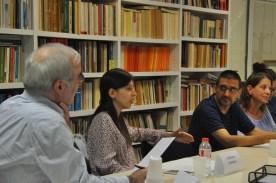 Joan Torra, Elisenda Almirall, Manolo Juárez y Anna-Bel Carbonell