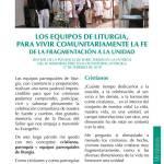 Síntesis de la ponencia de Enric Termes en la entrega del IV Memorial Pere Tena de Pastoral Litúrgica 2018