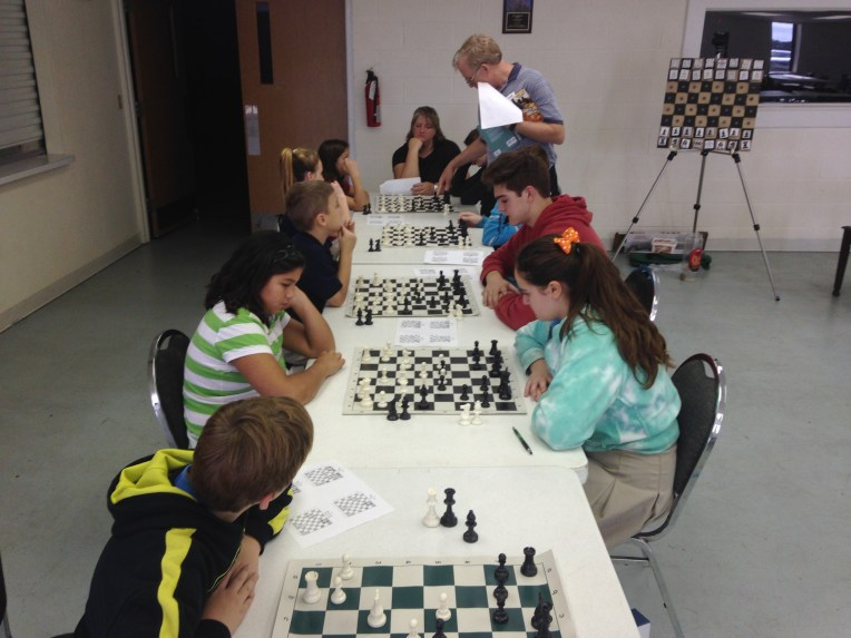 Chess 101 at Galilean Baptist Academy
