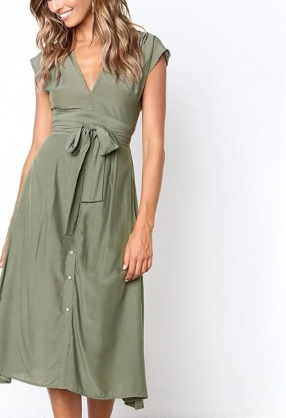 5b1b873bc9cbf Vintage Summer Midi Dress