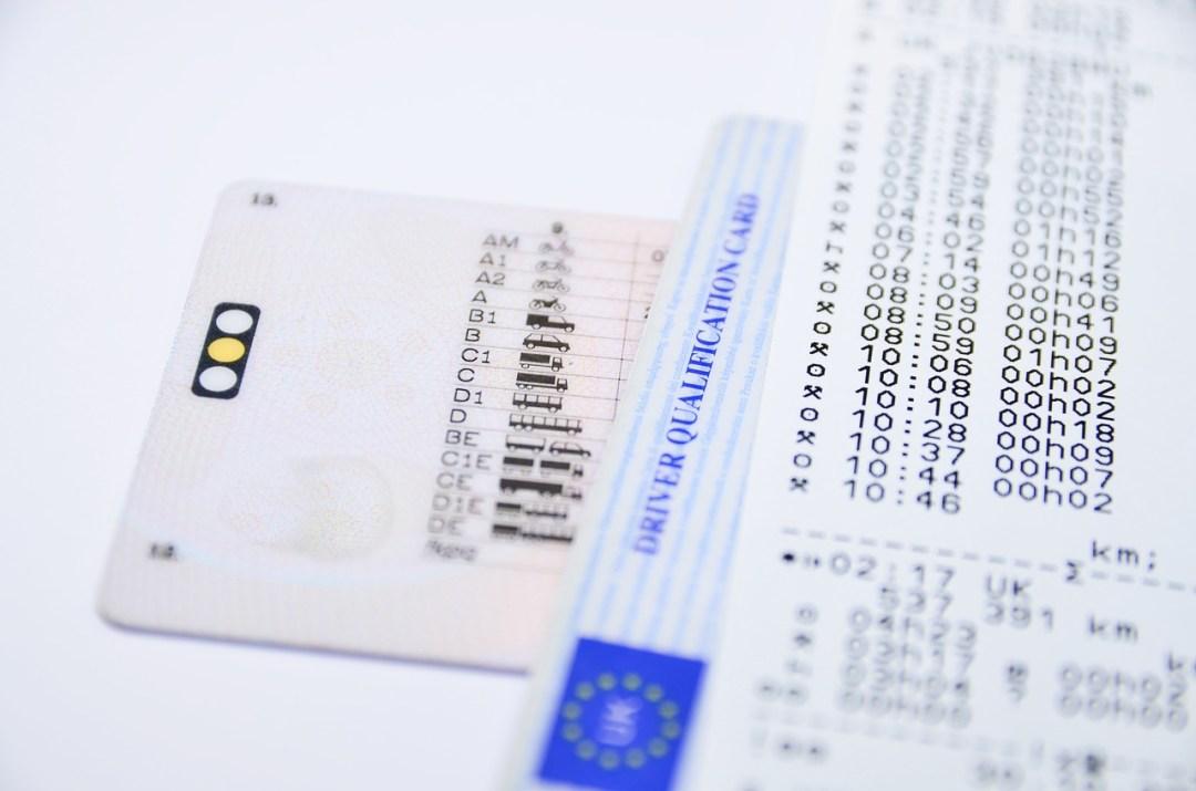 Tacógrafo y licencia. Galileo