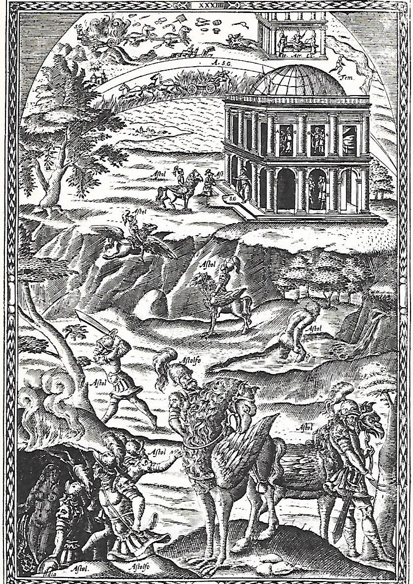 Illustration to 'Orlando Furioso', canto 34