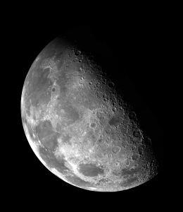 Waning half Moon. NASA on Unsplash.