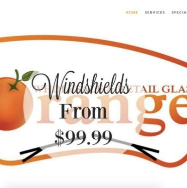 Auto Glass Website