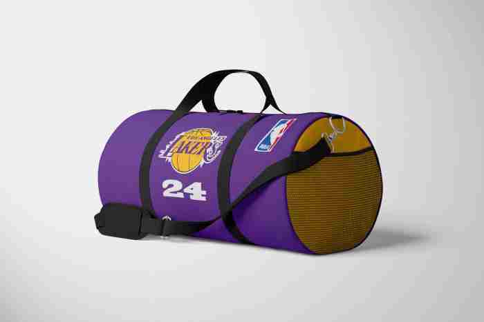 customized sports bag