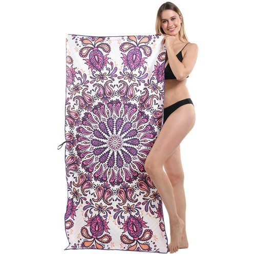 suede beach towel