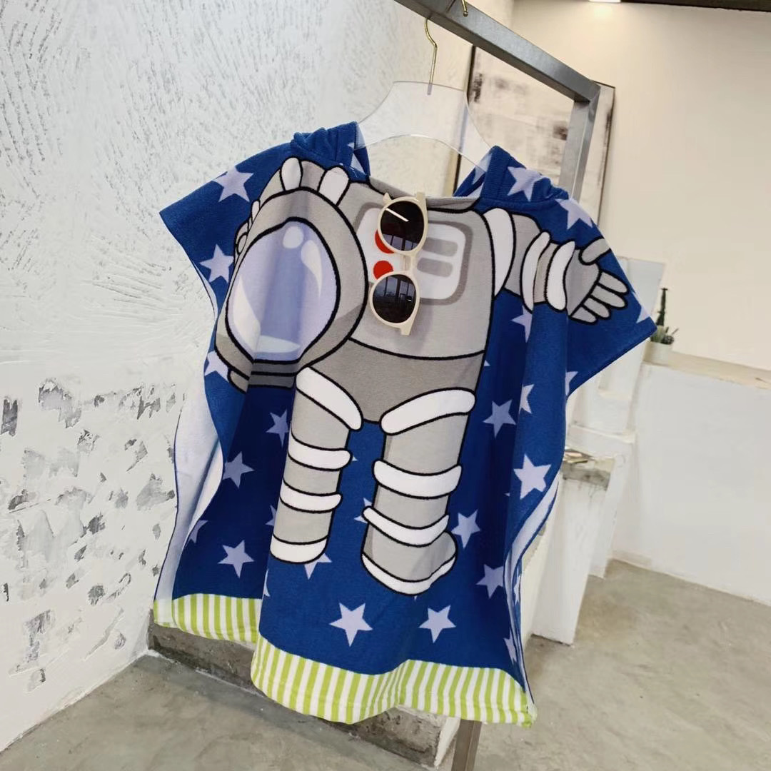 spaceman beach towel