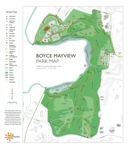 Boyce Mayview Park Map