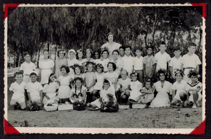חג שבועות 1951 כרכור. כיתה ב'