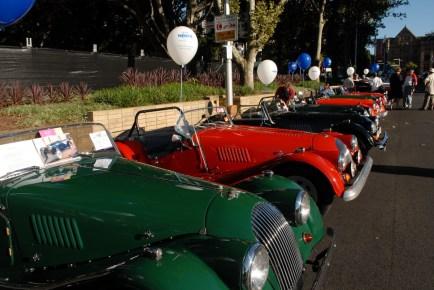 תערוכת מכוניות פורד עתיקות