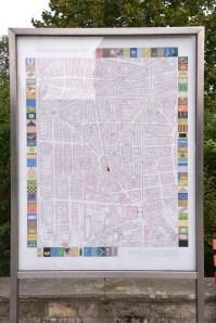 מפת השלטים המאויירים בשכונה