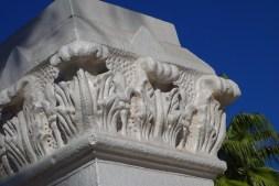 Desert-appropriate columns