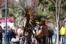 Dance show in Zocalo