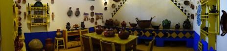Casa Azul cocina amarillo