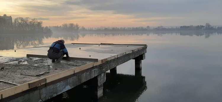 На міське озеро планують витратити ще кілька мільйонів