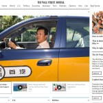 Taxi Wars in China – Wall Street Journal