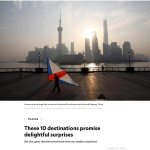 Latest Publication – National Geographic – Shanghai