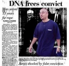 DNA frees convict