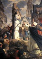 joan of arc at stake
