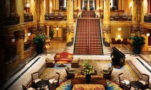 Jefferson Lobby Staircase