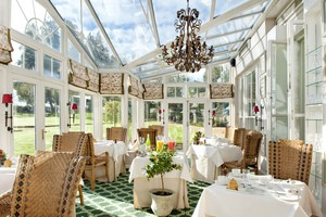 Conservatory at  Summer Lodge