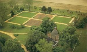 Bacon's Castle Garden