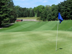 The course at the Latrobe Country Club.