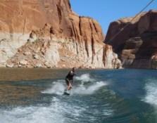 Lake Powell - wakeboarding