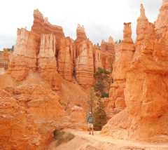 Hiking the Queen's Garden in Bryce Canyon
